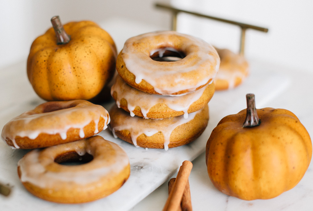 Pumpkin Spice Donuts Recipe