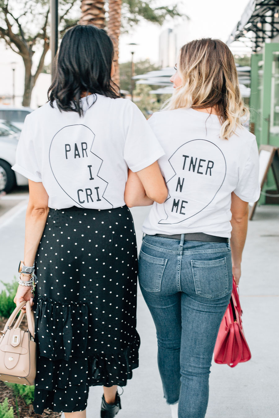 best friend outfits worn by fashion bloggers Lilly Beltran and Elly Brown