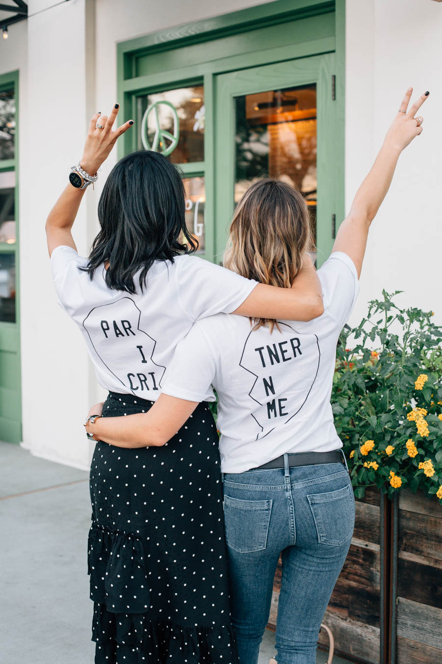 Matching best friends tee shirts from shopbop