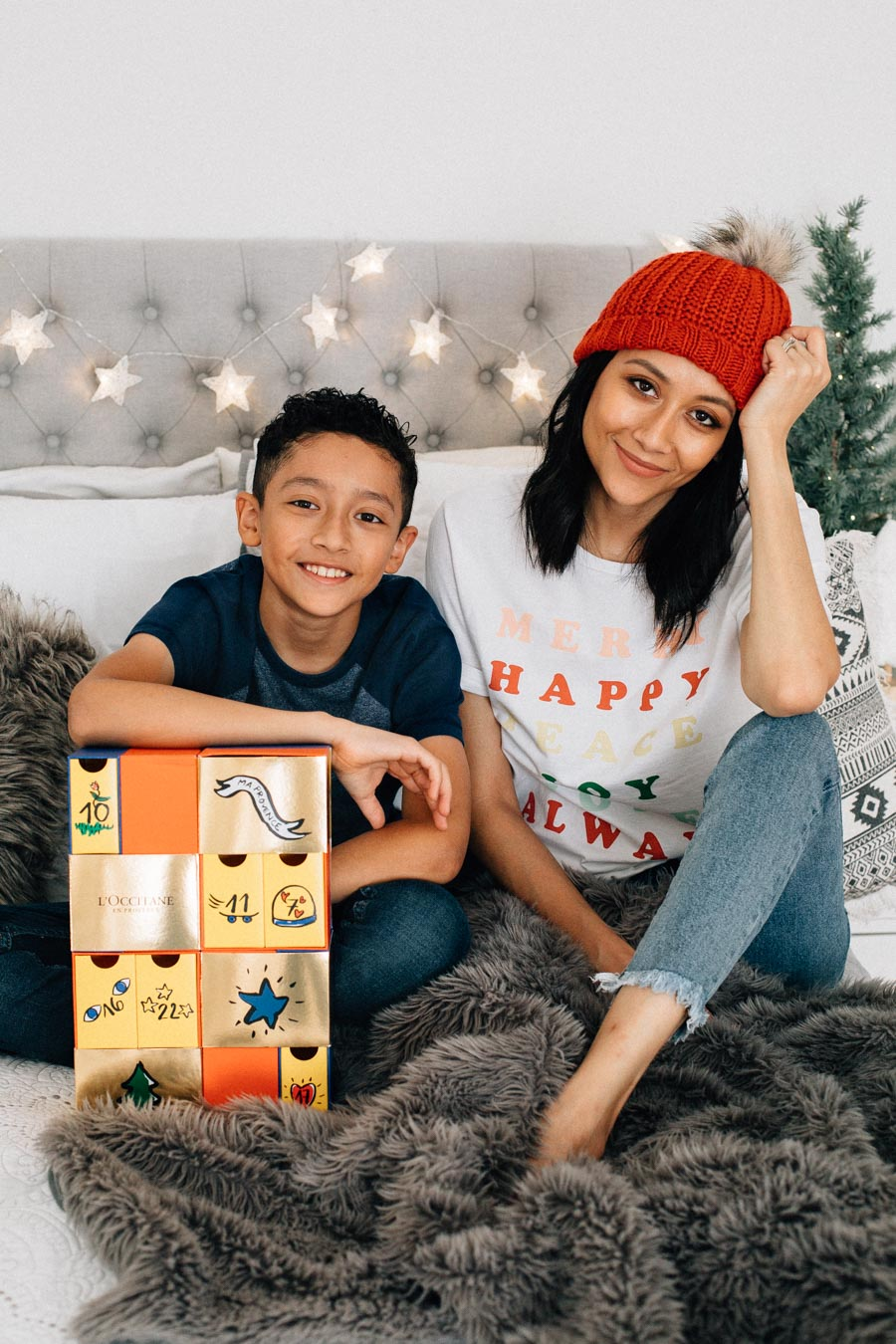 Giving back with L'Occitane Advent Calendar
