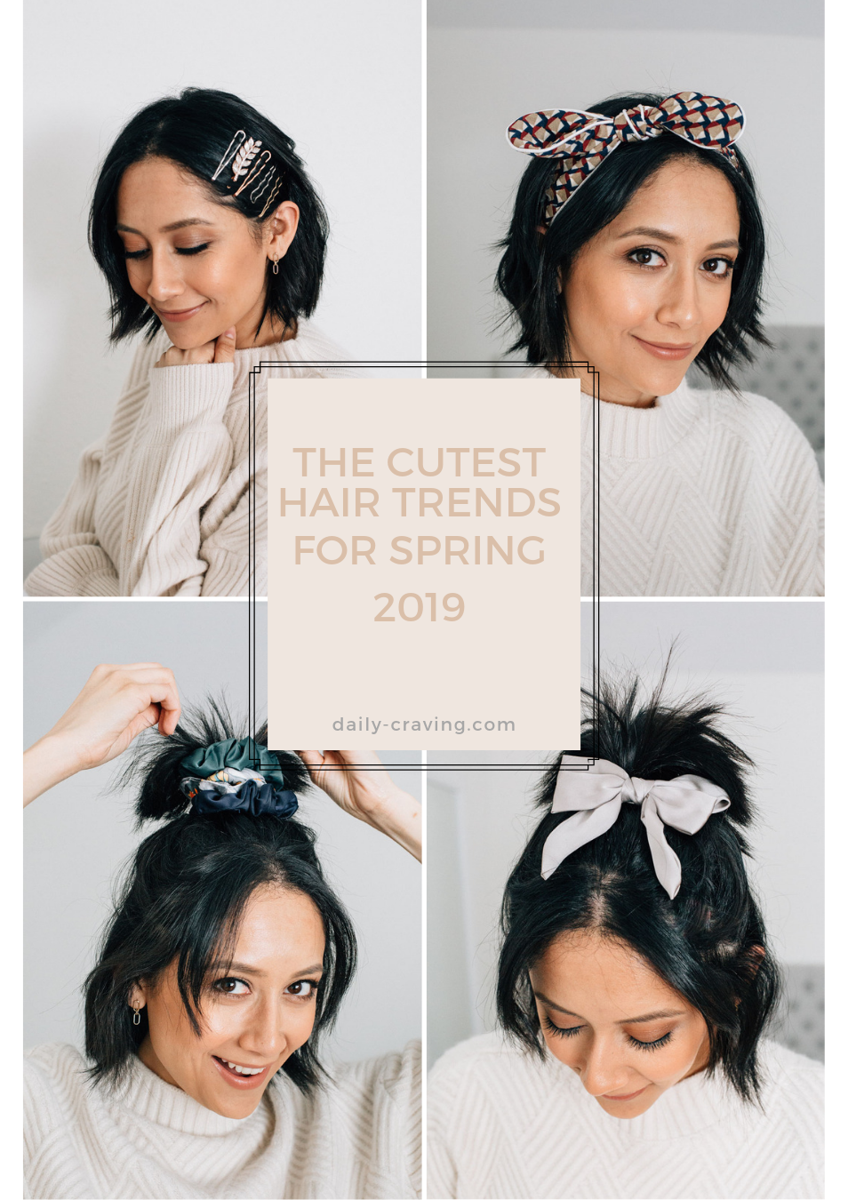 The Cutest Hair Trends For Spring 2019