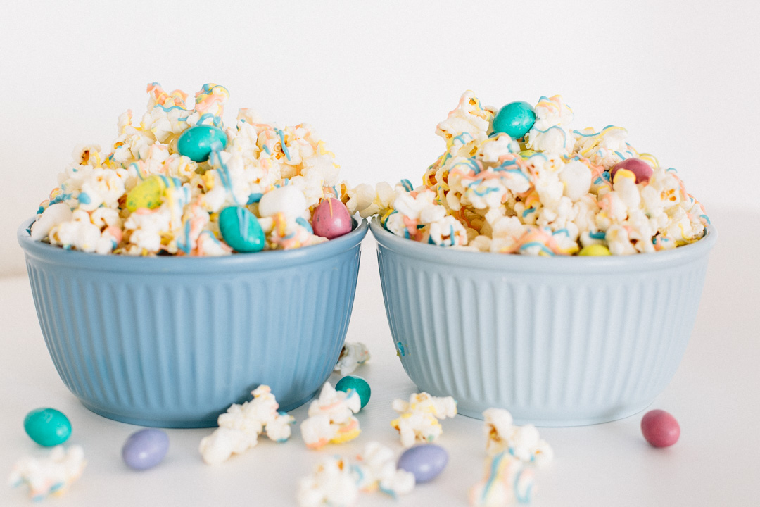 4 Ingredient Easter Candy Popcorn