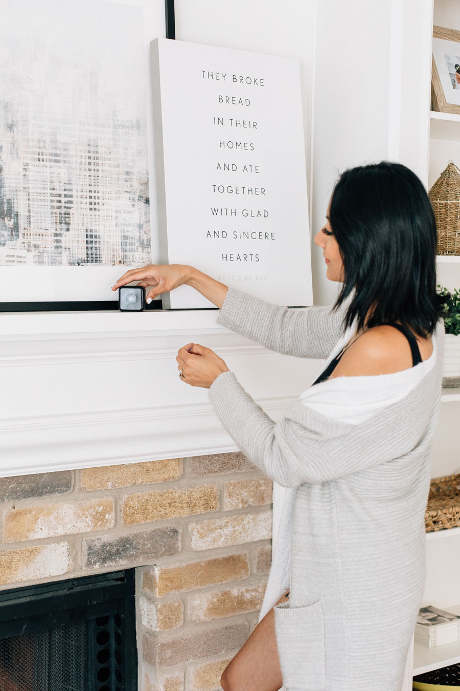 Lilly Beltran shares how the Hive View Wireless Camera has made her life as a working mom so much easier.
