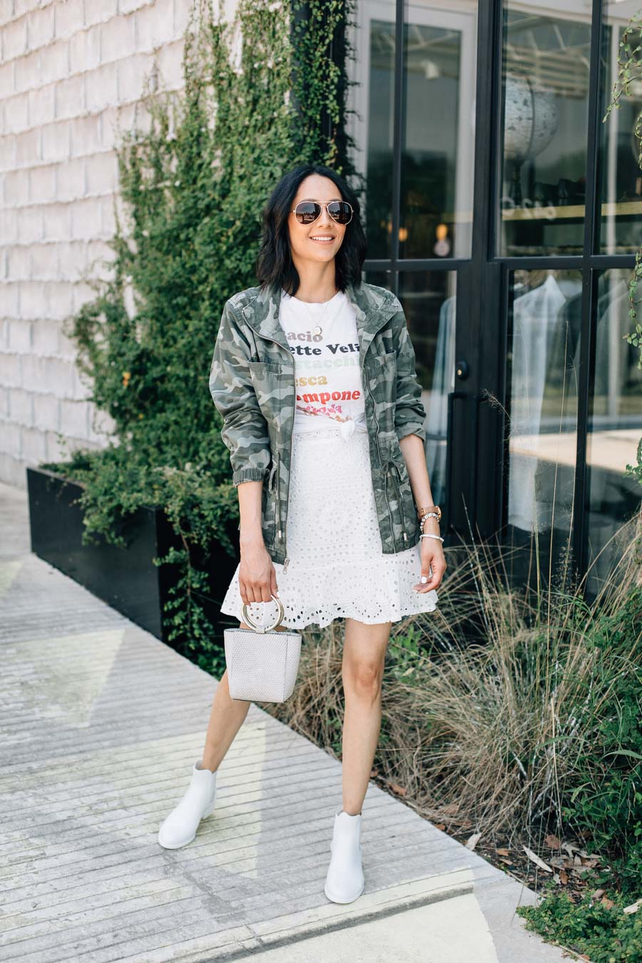 Lilly Beltran shares what to wear when you're stuck on what to wear on a rainy summer day