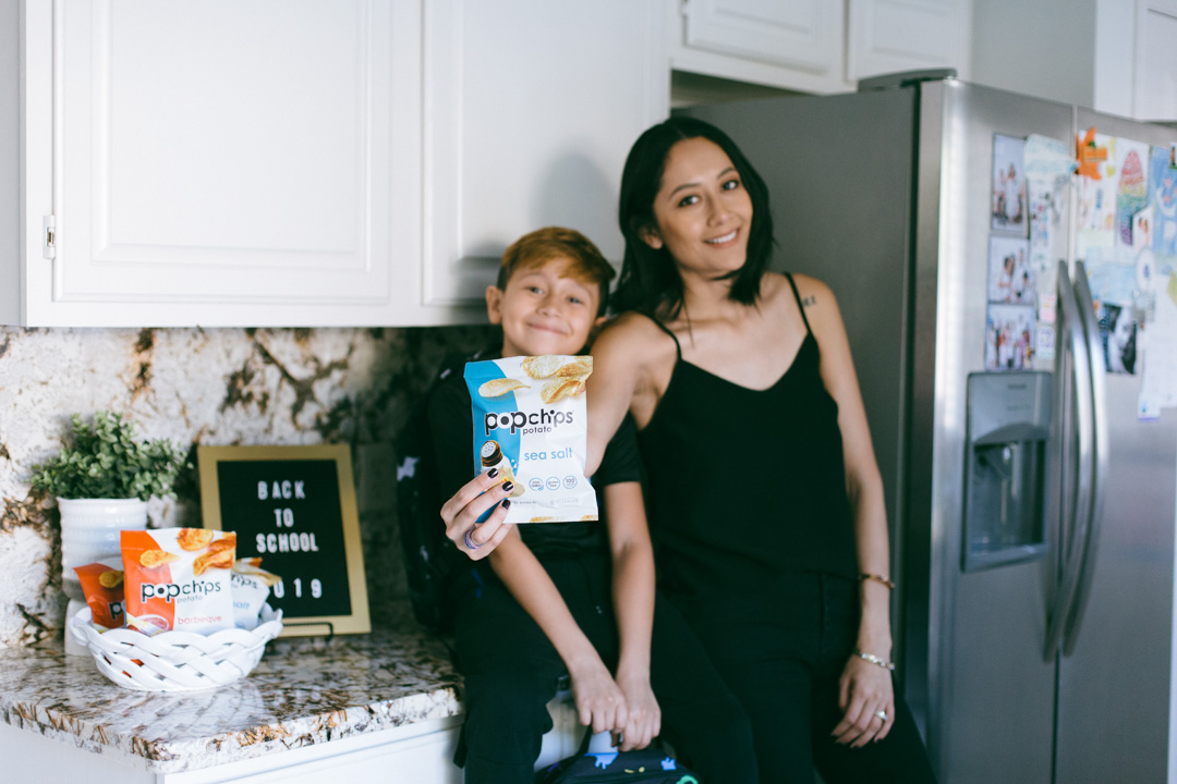 Lifestyle blogger Lilly Beltran shares why she packs popchips in her Childrens school lunches.