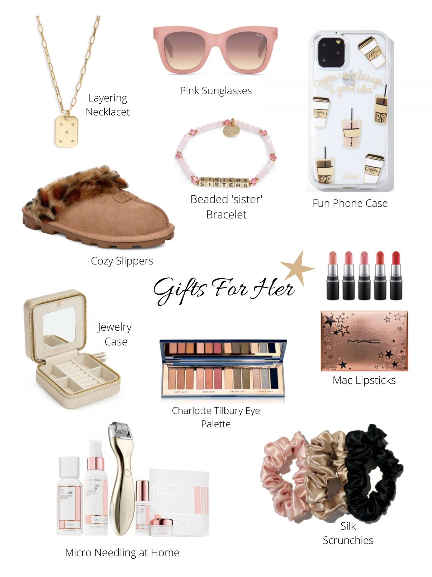 gift ideas for her | gift ideas for sisters, best friends, co-workers, cousins and all other ladies in your life.