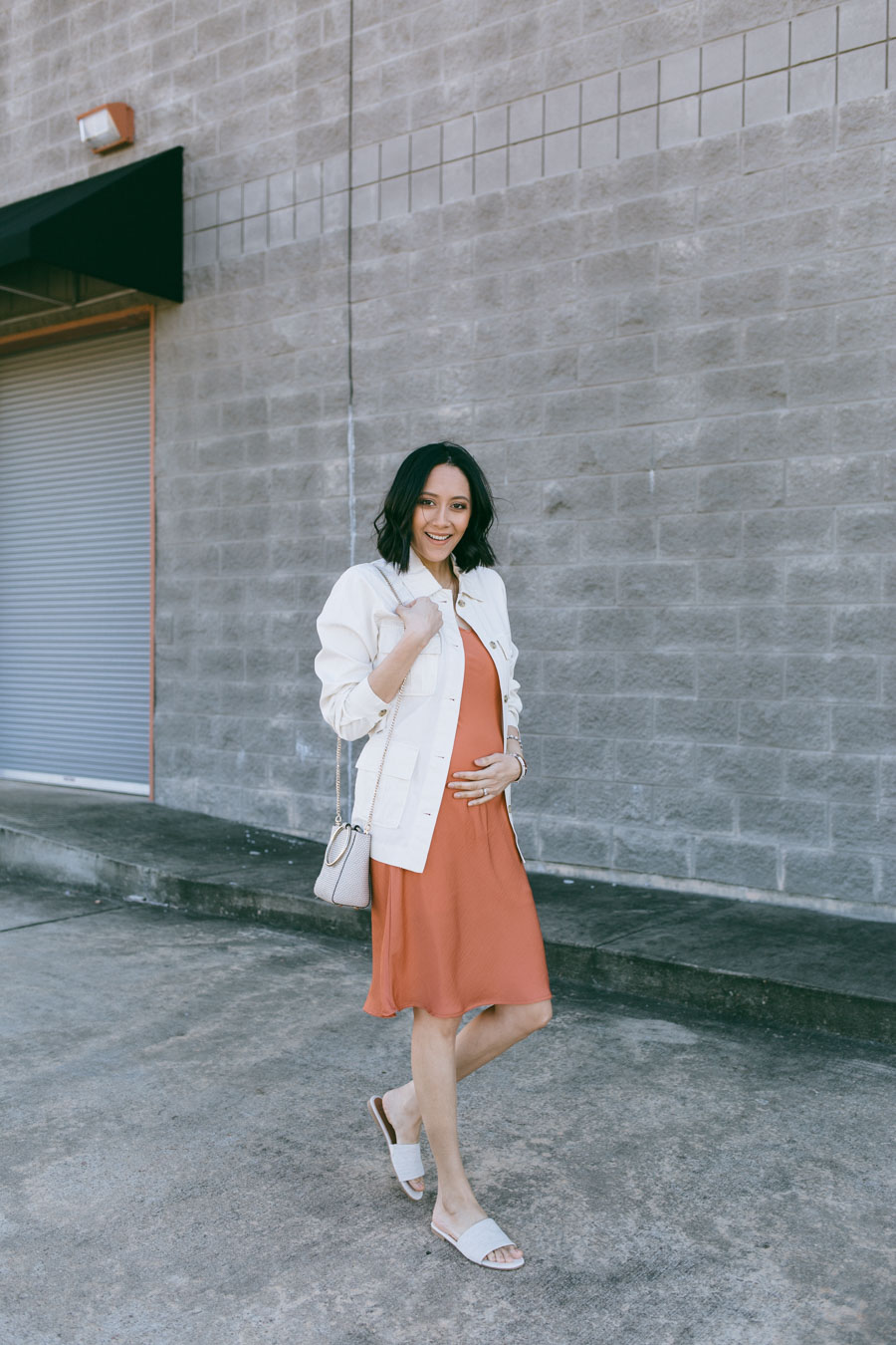 Affordable pregnancy style.