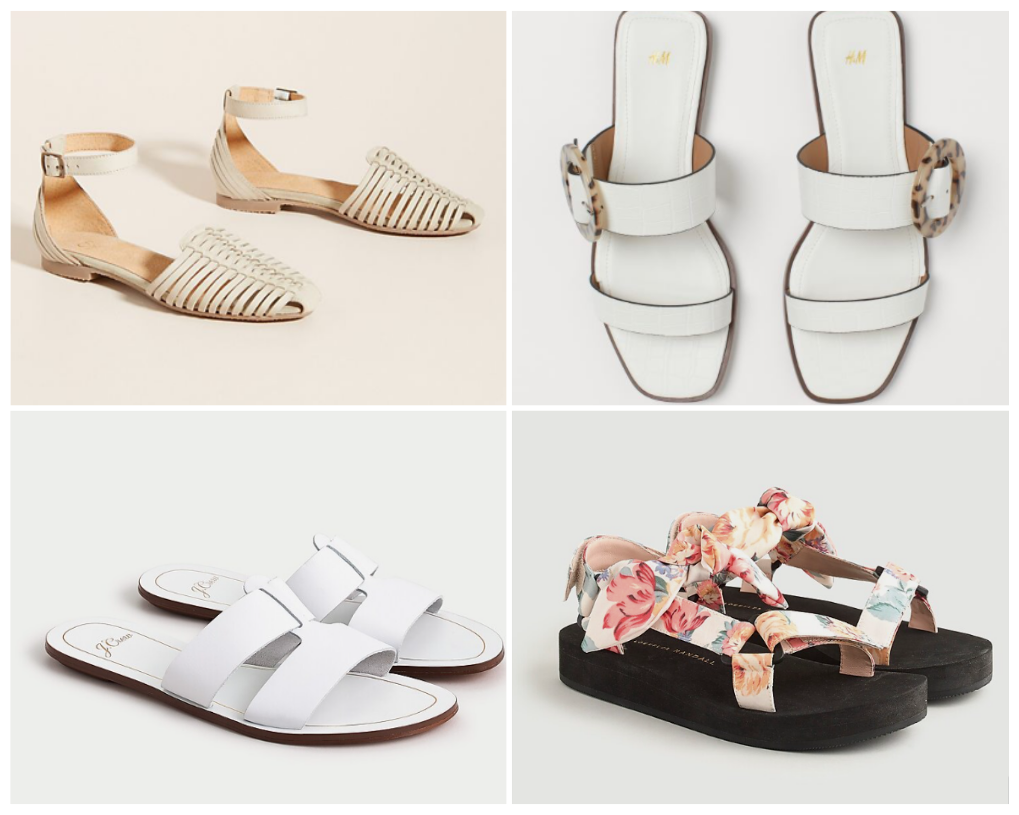 Spring Sandals For Every Budget