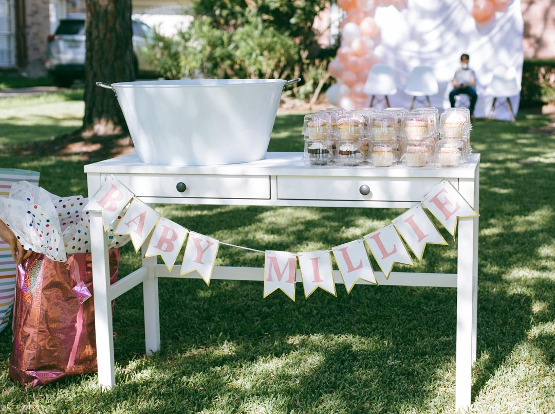 Simple drive-by baby shower | Daily Craving blog