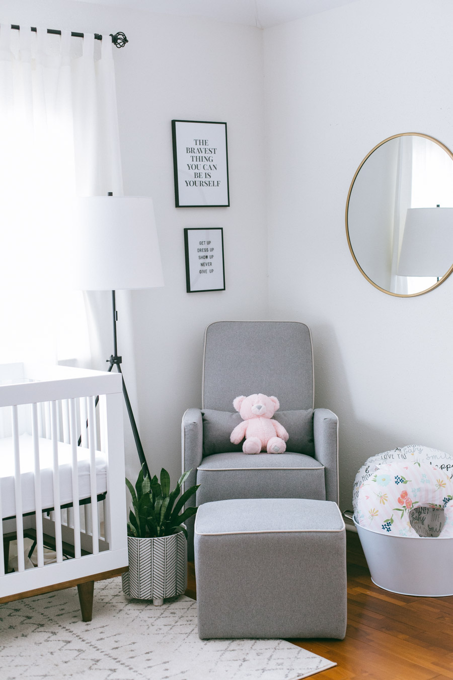 Black & White Baby Girl Nursery Ideas | Daily Craving Blog | Houston Lifestyle Blog