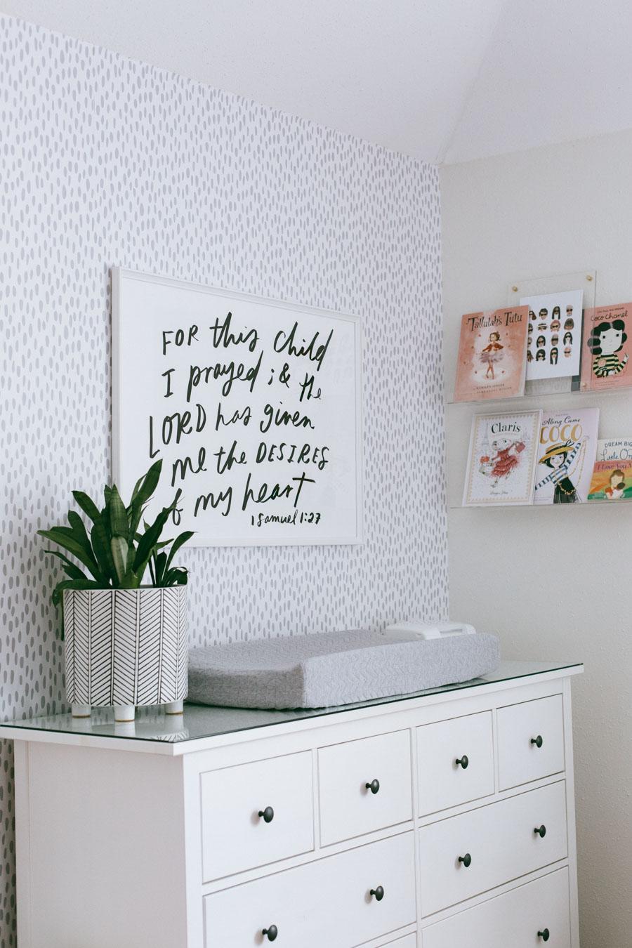 Neutral baby girl nursery decor | Daily Craving Blog | Houston Blog